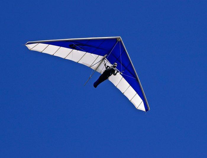 6. Hang gliding isn't as hard as it looks.