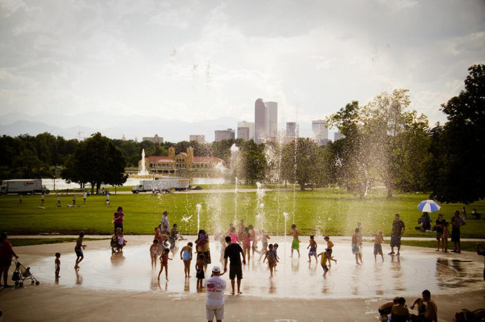 3. The Fountain at City Park