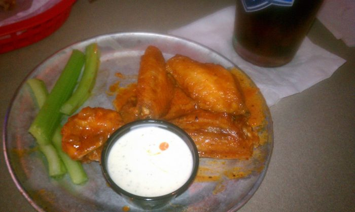 1. Pluckers has some crazy combinations of flavors like our favorite, Baker's Gold. Get your wings, get messy, and wash it all down with their concocted cocktails.