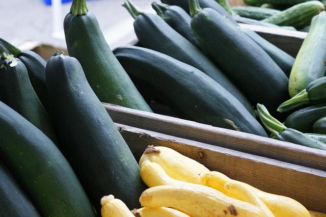 5. Visit a farmer's market.