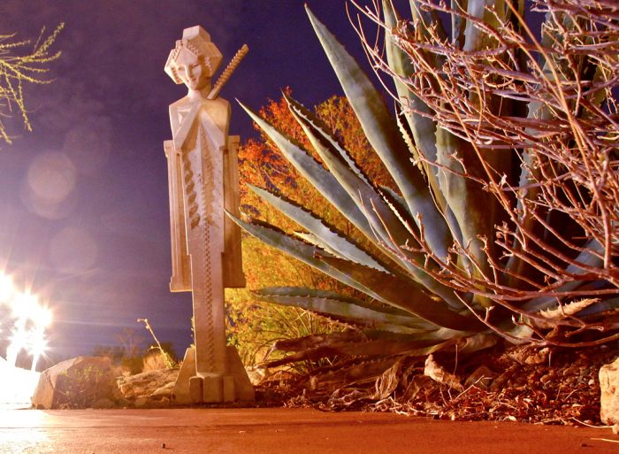 5. Another fun evening tour is at Scottsdale's Taliesin West.