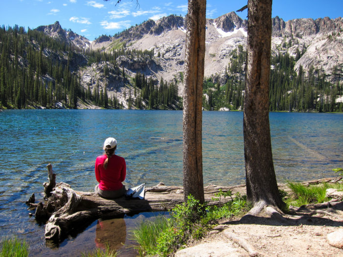 4. HIt the trails (or just enjoy the view) at the Sawtooth National Recreation Area.