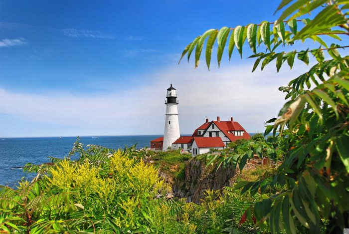 13. Portland Head Light, Casco Bay, Maine
