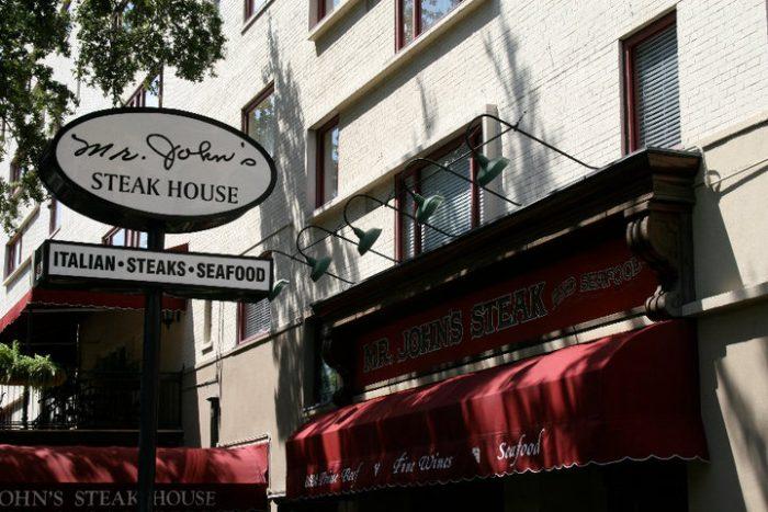 3. Mr. John's Steakhouse, 2111 St. Charles Ave., New Orleans
