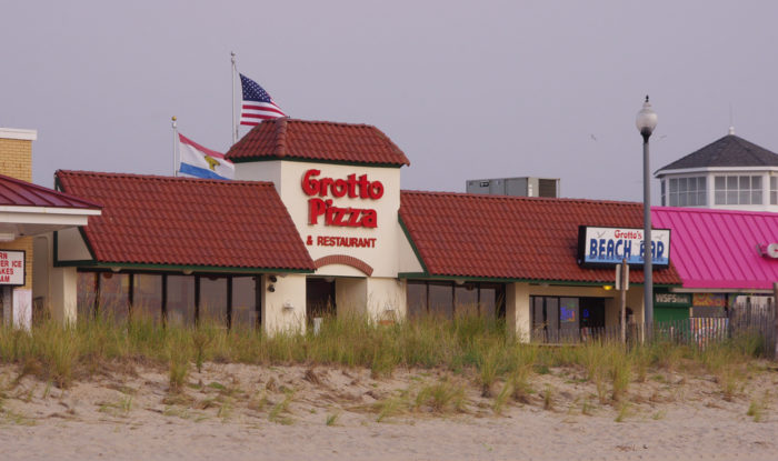 G is for Grotto Pizza