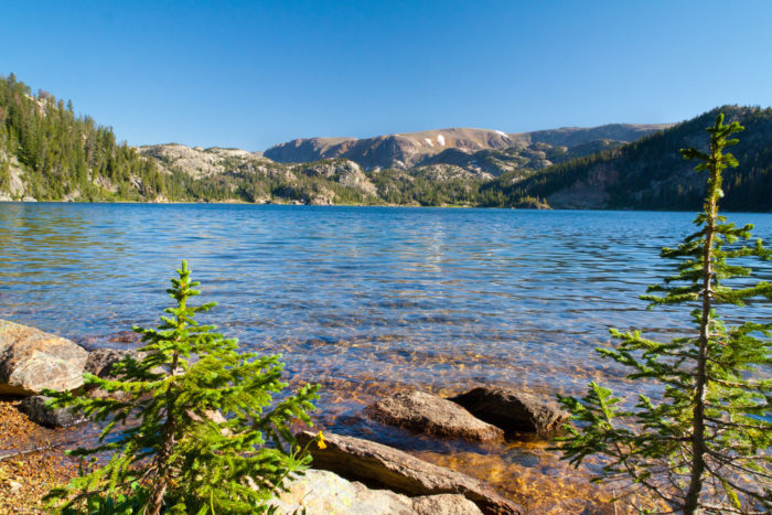 Wyoming: Beauty Lake Trail