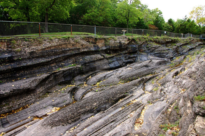 ...and the largest accessible glacial grooves in the world.