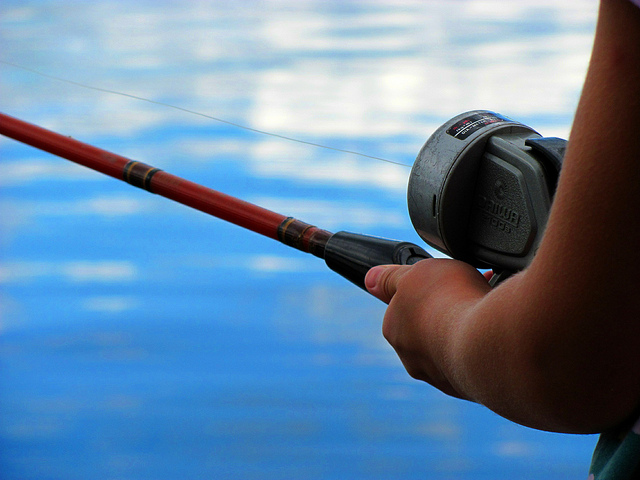 9. A fishing rod, or two, is also a guaranteed find.