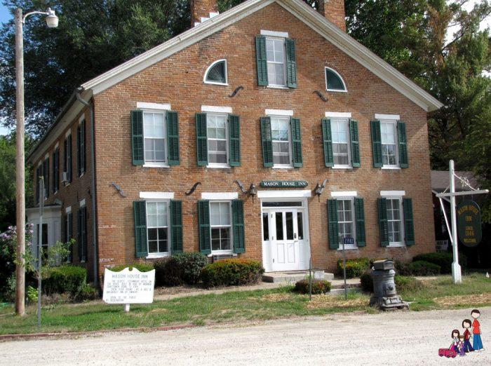 2. Mason House Inn, Bentonsport, Iowa