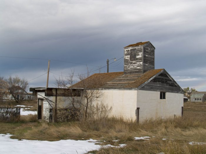 This town still had residents just 30 years ago and only officially disincorporated in 1994. Nature has already taken a toll on it in just these few decades.