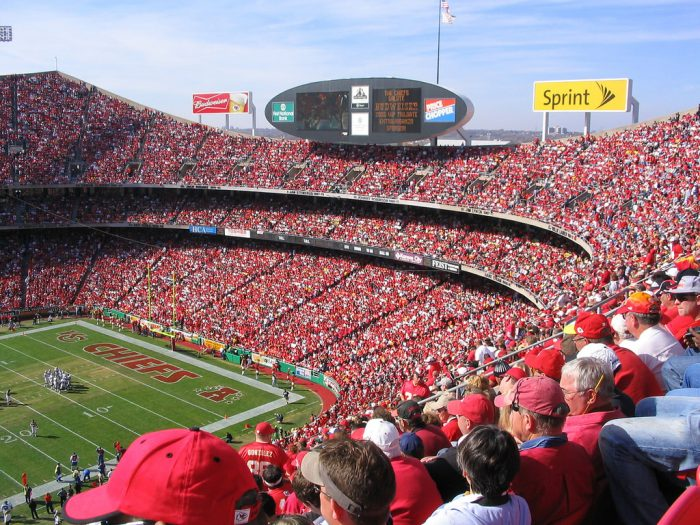 5. Lost some of your hearing at Arrowhead Stadium.