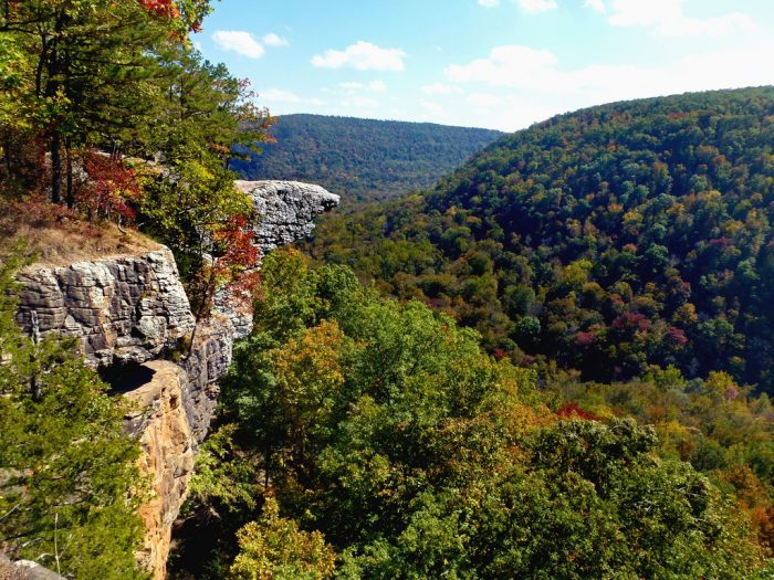 4. Check out the mountainscape at Whitaker Point near Deer.