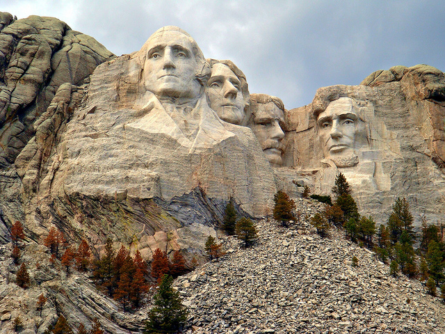 9. Before it had faces carved into it, Mount Rushmore was actually called Mountain of Rock.