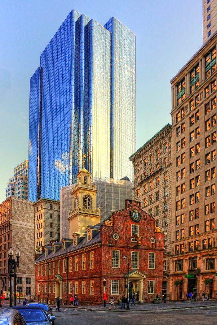 10. Old State House, Boston, Massachusetts
