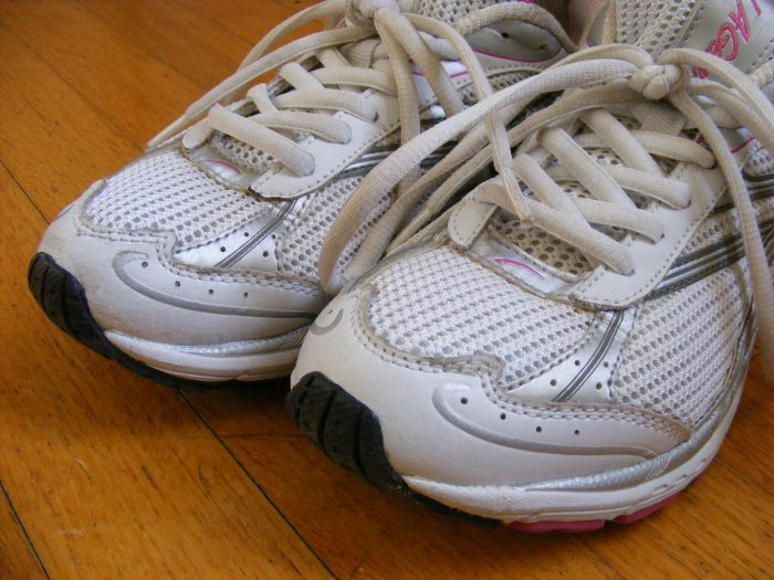 1. Making sure you've got a solid pair of walking shoes...you've got places to go and people to see!