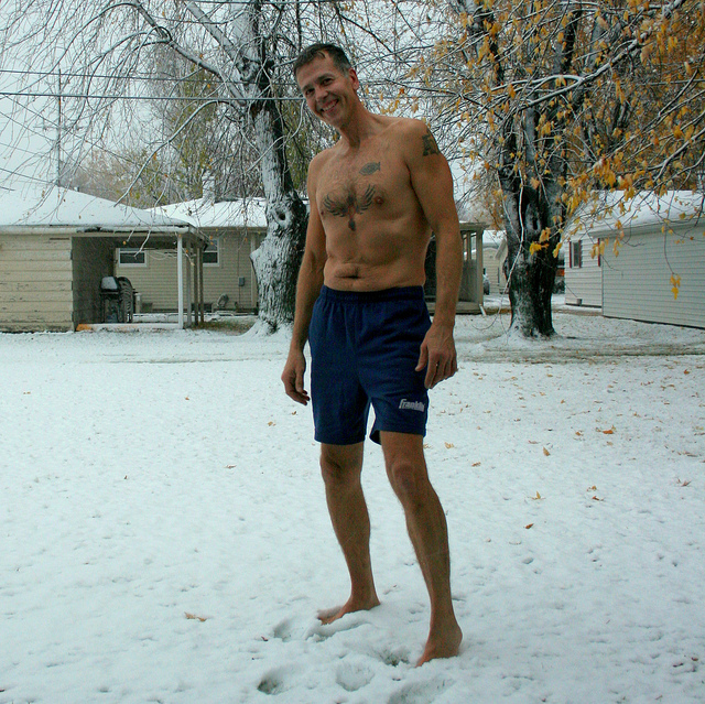 12. You think any weather is shorts weather, as long as it's at least 20 degrees warmer than the day before.