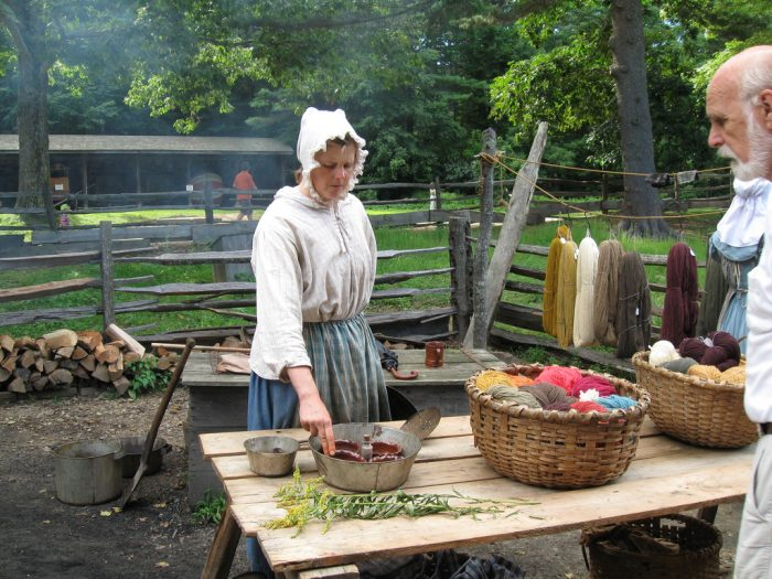 3. ....and Plimouth Plantation or Old Sturbridge Village.