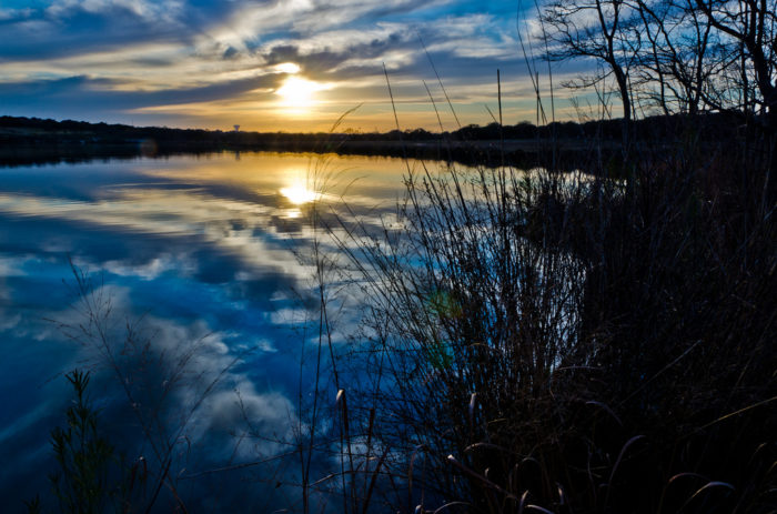 5. Capture sunsets at Brushy Creek Lake Park.