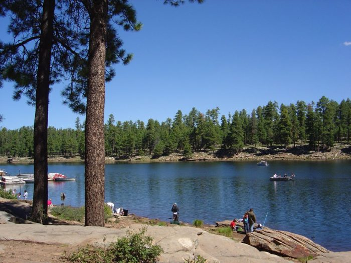 14 arizona lakes to visit this summer for Canyon lake fishing spots