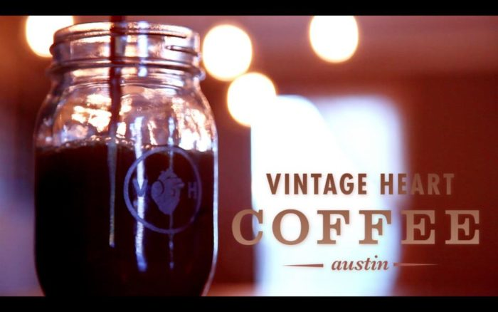 5. Vintage Heart Coffee shop is the cutest spot to get some work done...and sip your brew from a mason jar!
