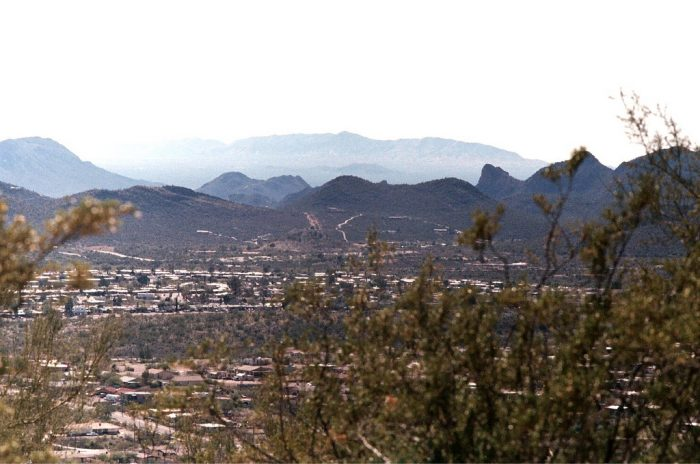 """13. Want to see Tucson from above? Sentinel Peak (aka """"A"""" Mountain) will give you a great view!"""
