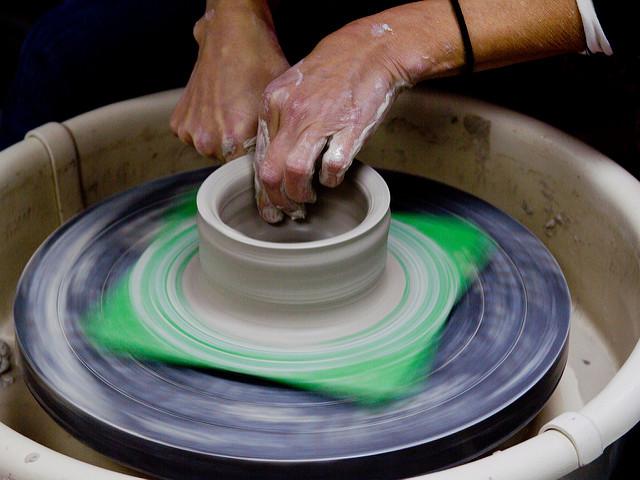 8. Take a pottery class.