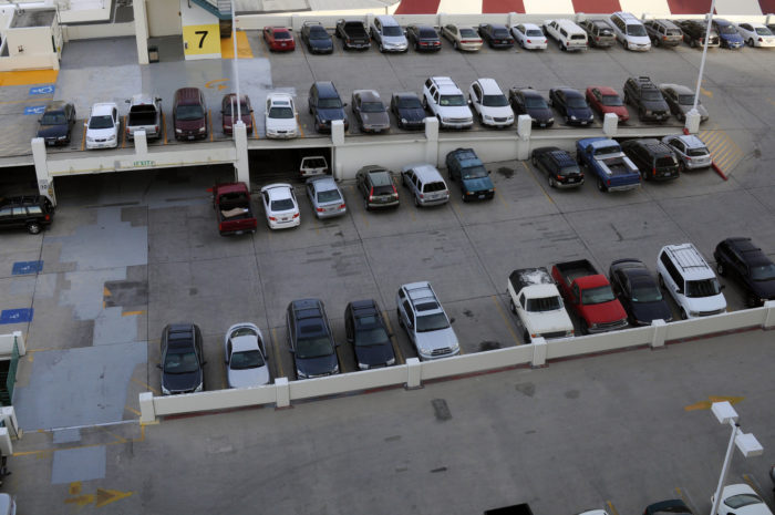 4. You don't know what it means to pay for parking.