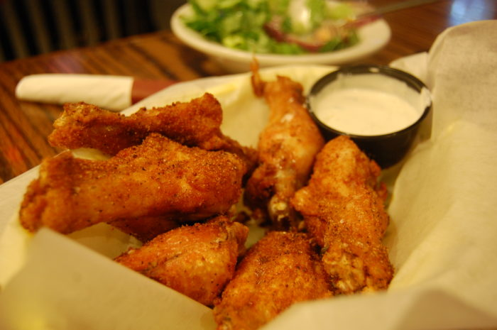 3. Old Bay wings are EVERYTHING.