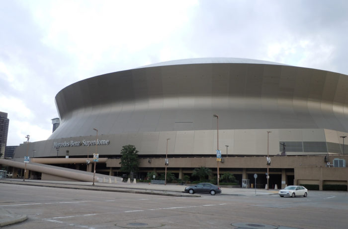 9) The Superdome in New Orleans is the largest room constructed by steel that has no obstructing posts.