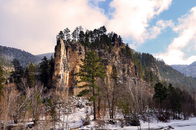2. Hike in Spearfish Canyon.