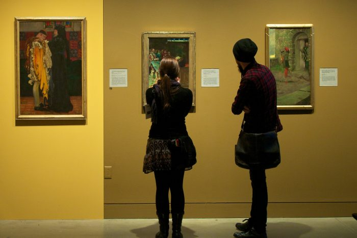 5. Get lost in an art gallery