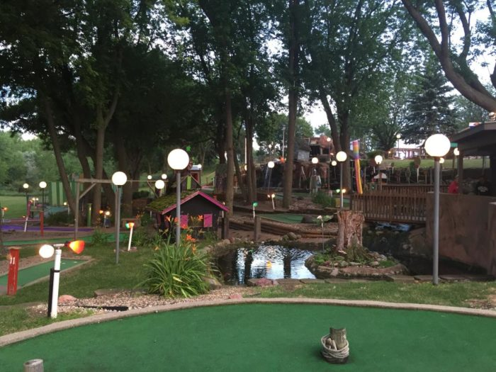When you're ready for your next meal, check out Ranch Okoboji where you can grab a bite to eat, as well as a delicious margarita, before spending the rest of the evening playing mini golf, horse shoes, cornhole, squirt gun battles and much more.
