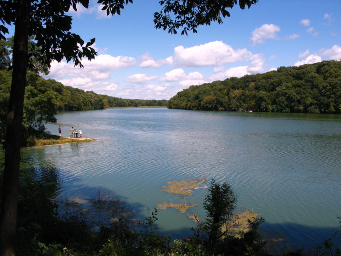 3. Grab your pole and do some fishing at Pine Lake State Park in Eldora.