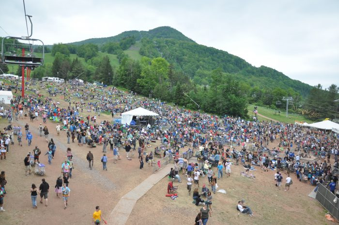 3. Dancing your heart out at the Mountain Jam music festival.