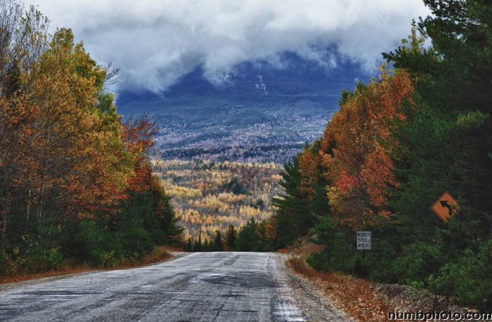 4. The Golden Road Scenic Byway in Millinocket gives views you'll never see in Southern Maine.