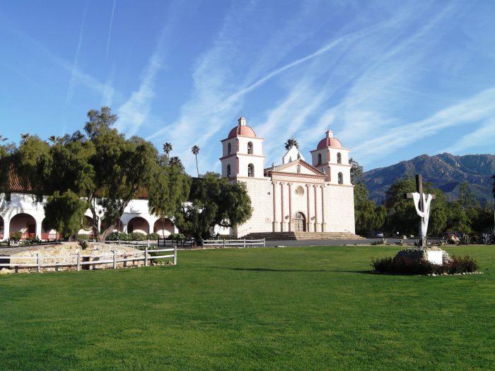 3. The chapel at Mission Santa Barbara
