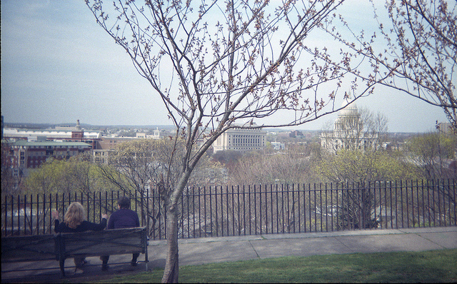 7. The city is filled with lovely parks with unique views.