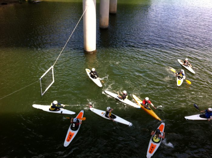 10. Kayak Water Polo? We're in!