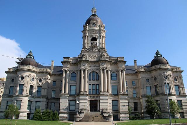 5. Old Vanderburgh County Courthouse - Evansville