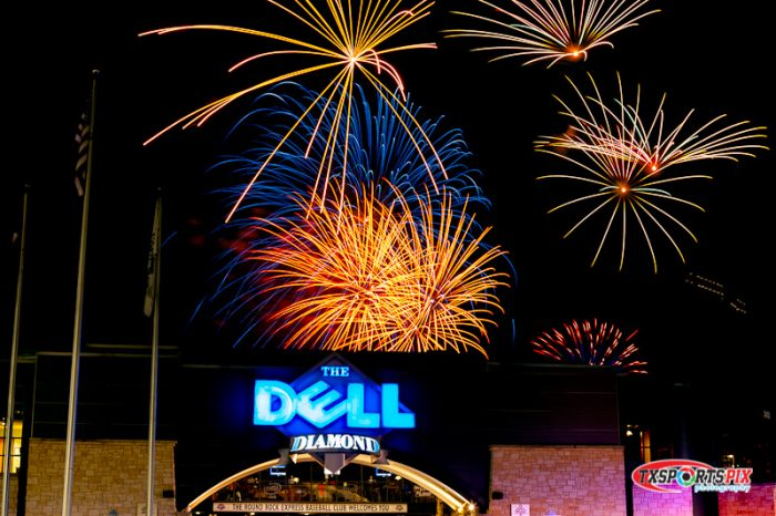 12. Watch a game and fireworks show at the Round Rock Express Stadium.