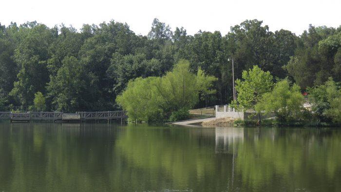 11.Lake Charles (near Powhatan)