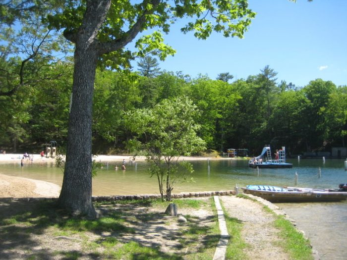 5. The Beach at Douthat Lake