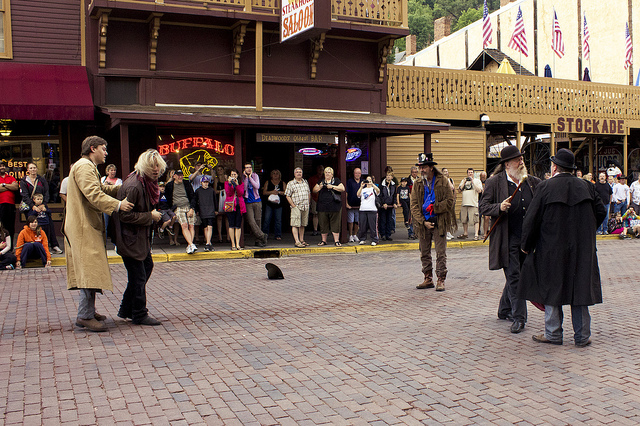 9. See a wild west reenactment.