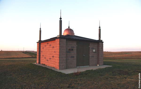 3. The first mosque in the United States