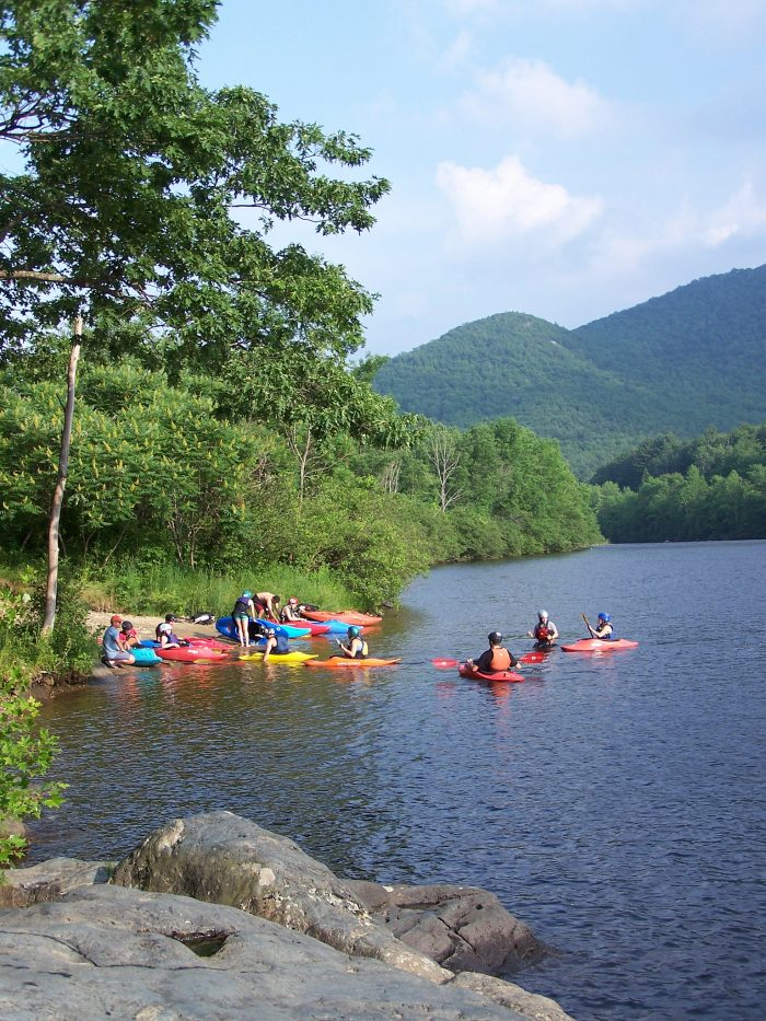 5. Go kayaking, rafting, or ziplining with Zoar, Outdoor, Charlemont