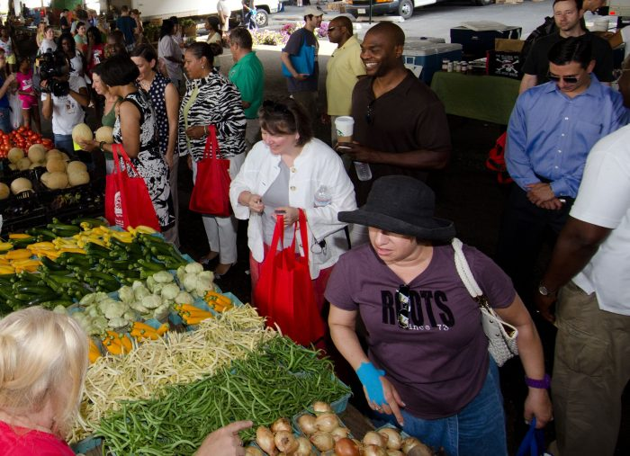 8. Shop local at a Maryland farmers market.