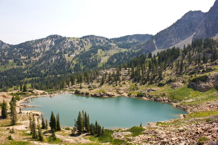 6. Cecret Lake, Little Cottonwood Canyon