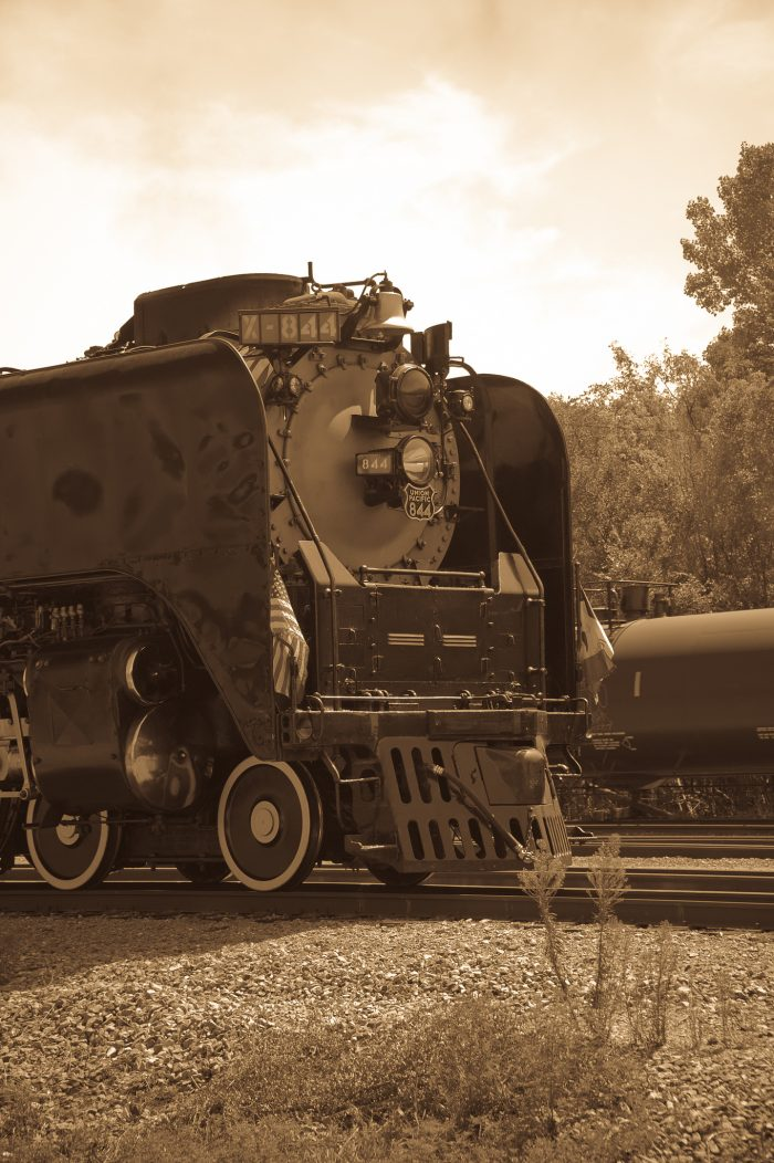 4. The Last Steam Locomotive, 1944