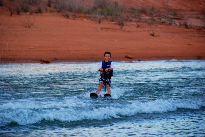 8. Learn to snow or water ski.