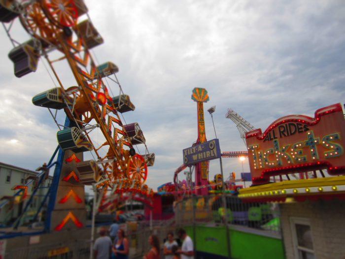 13. Amusement Park Rides
